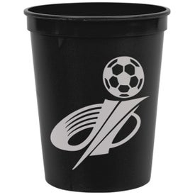 On The Go Stadium Cup Printed with Your Logo