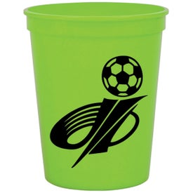 Monogrammed Personalized Stadium Cup