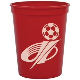 On The Go Stadium Cup Imprinted with Your Logo