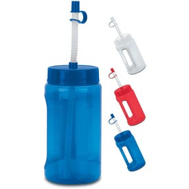 Handle Bottle (BPA Free, 16 Oz.)