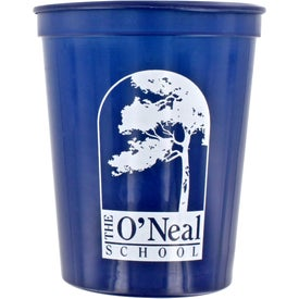 Smooth Stadium Cups Branded with Your Logo