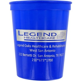 Customized Smooth Stadium Cups