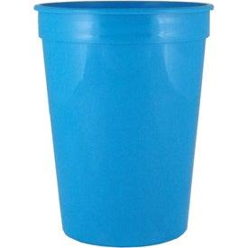 Imprinted Smooth Stadium Cups