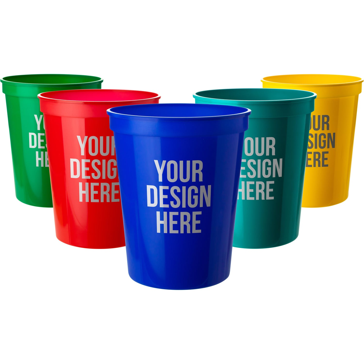 6060befb5cd CLICK HERE to Order 16 Oz. Smooth Stadium Cups Printed with Your Logo for  37¢ Ea.