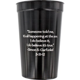 Smooth Stadium Cups for Marketing