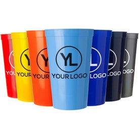 Smooth Stadium Cups (22 Oz.)
