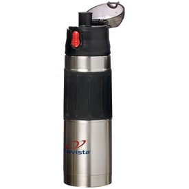 Printed Easy Hold Vacuum Stainless Steel Water Bottle