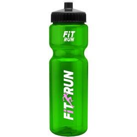 Promotional Colored Transparent Bike Bottle