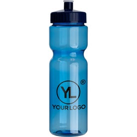 Colored Transparent Bike Bottle (28 Oz.)