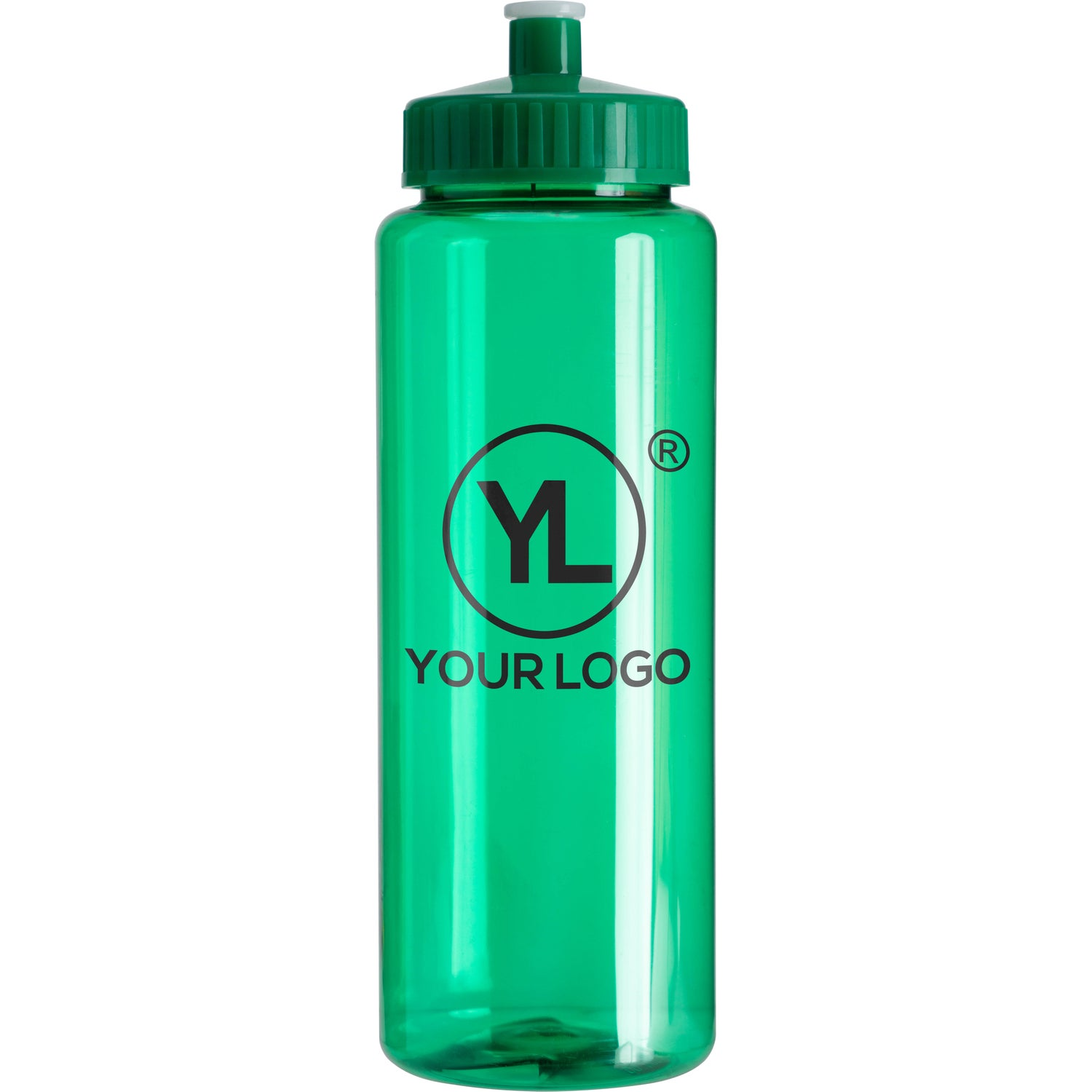 promotional 32 oz transparent colors sports bottle s with custom logo for 1 13 ea