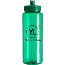 Transparent Colors Sports Bottle