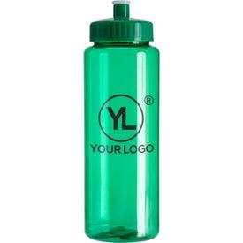 Transparent Colors Sports Bottle (32 Oz.)