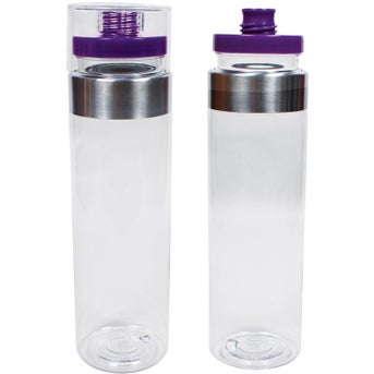 clearpurple lid mirage top tritan water bottle 32 oz