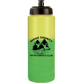 Mood Sports Bottle with Push 'n Pull Cap for Promotion