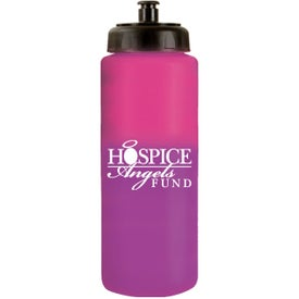 Mood Sports Bottle with Push 'n Pull Cap for Customization