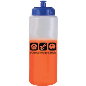 Mood Sports Bottle with Push 'n Pull Cap Printed with Your Logo