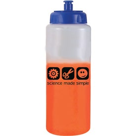 Company Mood Sports Bottle with Push 'n Pull Cap