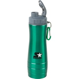 Imprinted Action Water Bottle