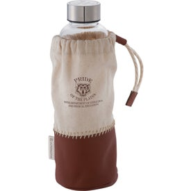 Alternative Glass Bottle with Pouch (18 Oz.)