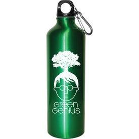 Aluminum Bottle BPA Free for Advertising