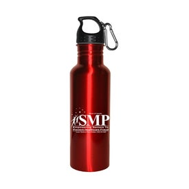 Advertising Aluminum Bottle with Carabiner