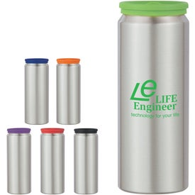Aluminum Bottle with Silicone Lid for Customization