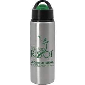 Logo Aluminum Pallina Bottle