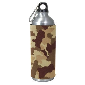 Promotional Aluminum Sport Bottle with Sleeve