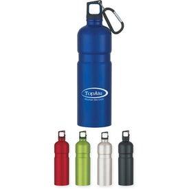 Imprinted Spill-Resistant Aluminum Sport Bottle