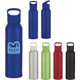 Logo Aluminum Sports Bottle