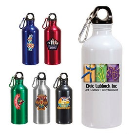 Aluminum Trek II Bottle (22 Oz., Full Color Logo)