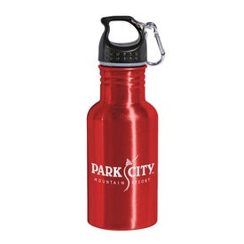 Aluminum Water Bottle BPA Free with Your Slogan