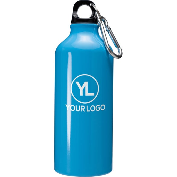Baby Blue Aluminum Water Bottle