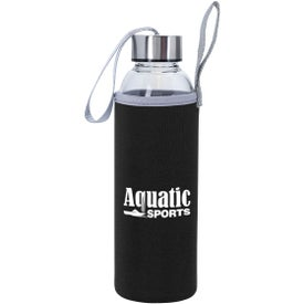 Aqua Pure Glass Bottles (18 Oz.)