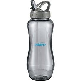 Aquos Sport Bottle (BPA Free, 32 Oz.)