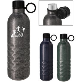 Arlington Hammered Stainless Steel Bottle (17 Oz.)