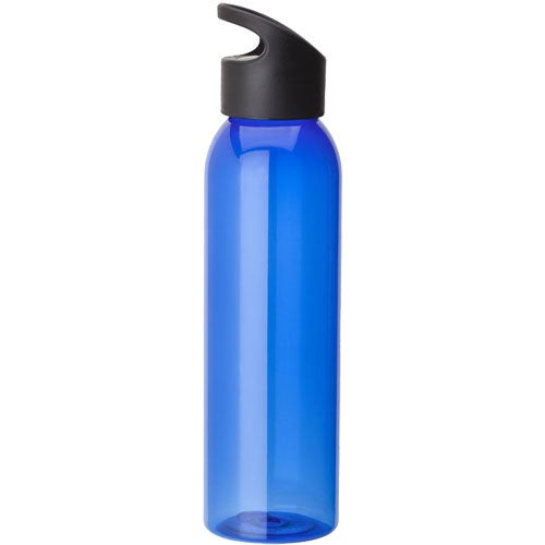 Blue Water Bottle with Wacky Handle