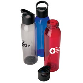 Water Bottle with Wacky Handle (22 Oz.)