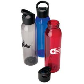 Water Bottle with Wacky Handle (22 Oz.)