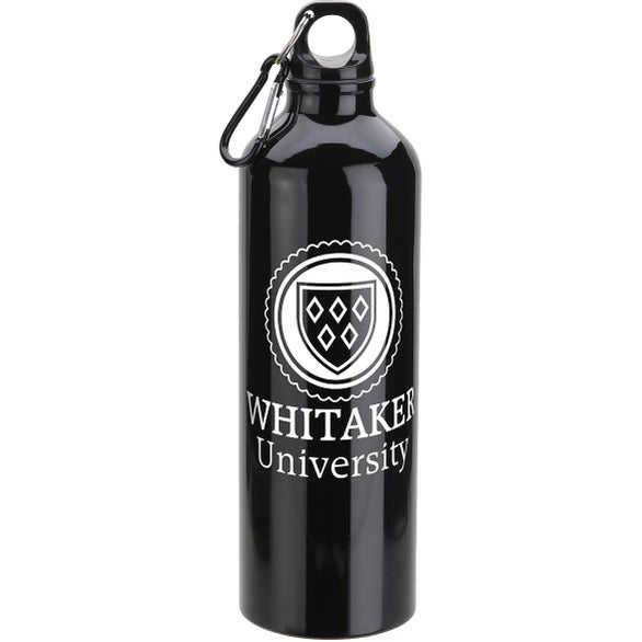 Black Atrium Aluminum Bottle