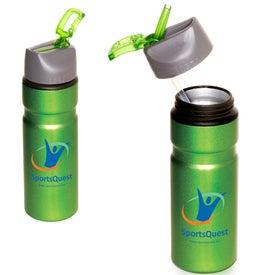 Badlands Aluminum Bottle with Your Slogan