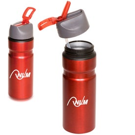 Logo Badlands Aluminum Bottle