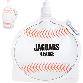 HydroPouch! Baseball Collapsible Water Bottle