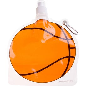 Company HydroPouch! Basketball Collapsible Water Bottle