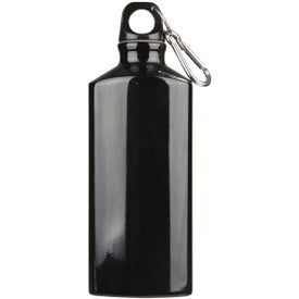 Logo Bermuda Aluminum Bottle with Carabiner