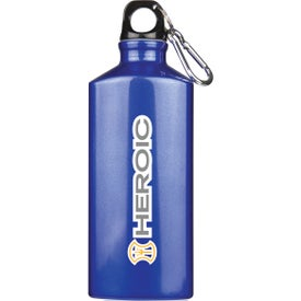 Bermuda Aluminum Bottle with Carabiner for your School