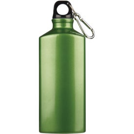 Monogrammed Bermuda Aluminum Bottle with Carabiner