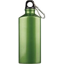 Monogrammed Bermuda Aluminum Bottle with Carabiner