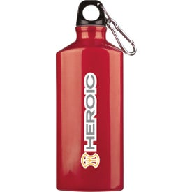 Branded Bermuda Aluminum Bottle with Carabiner