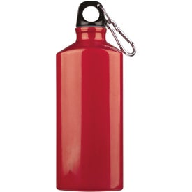 Bermuda Aluminum Bottle with Carabiner for Your Organization